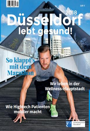 Düsseldorf lebt gesund Cover